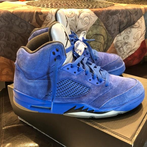 the best attitude cef28 2d288 Air Jordan Retro 5 Royal Blue Size : 11